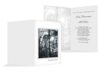Stillvolle Trauerkarten Selbst Gestalten Drucken